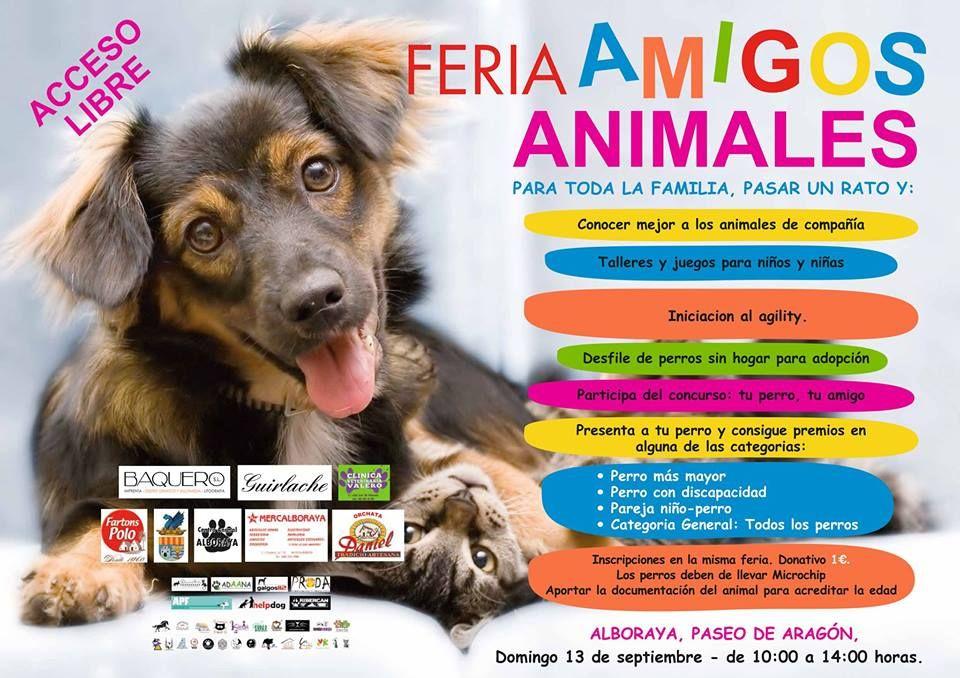 FERIA AMIGOS ANIMALES ALBORAYA, septiembre 2015