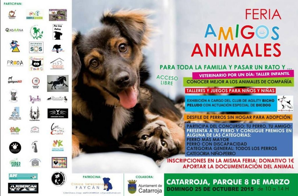 FERIA AMIGOS ANIMALES CATARROJA, 2015