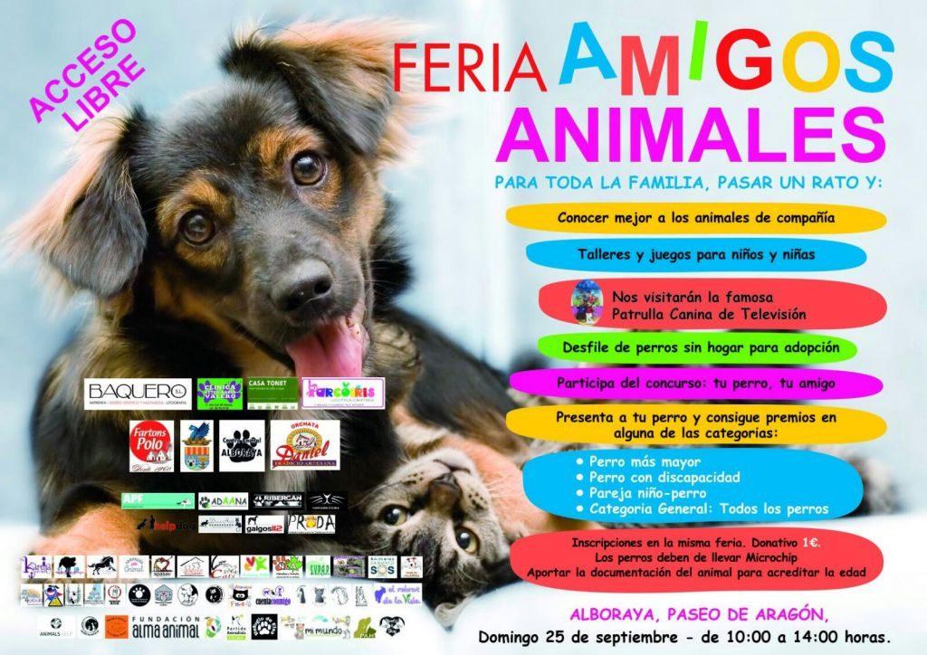 FERIA AMIGOS ANIMALES ALBORAYA