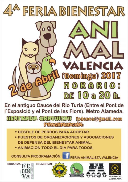 FERIA ANIMALISTA VALENCIA. 2017
