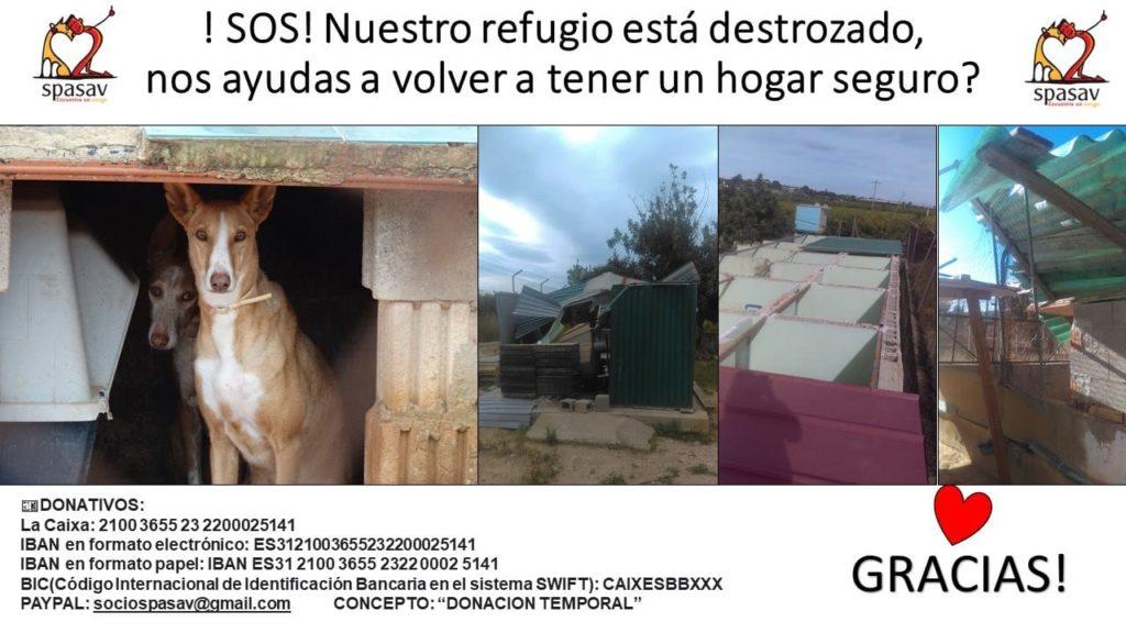 !SOS¡ Ayuda por temporal